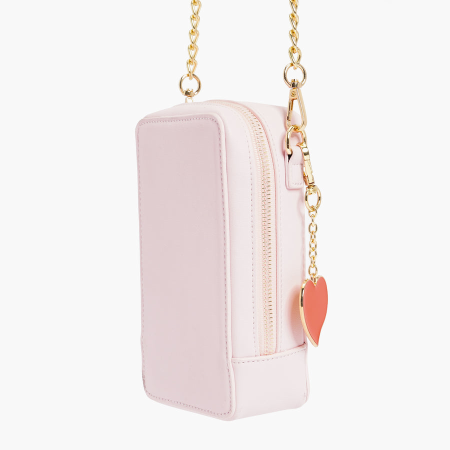 LIKE DREAMS Heart Keychain Crossbody
