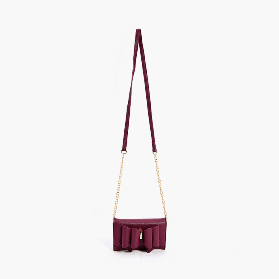 LIKE DREAMS Mini Double Bow Crossbody