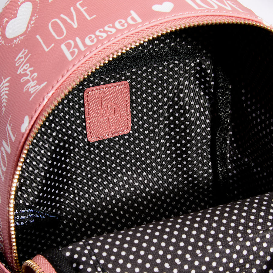 LIKE DREAMS Love Blessed Backpack