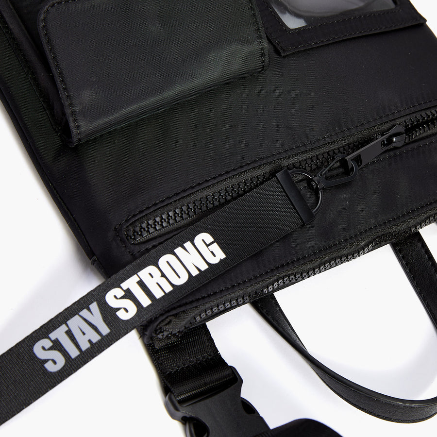 LIKE DREAMS Stay Strong Shoulder Bag