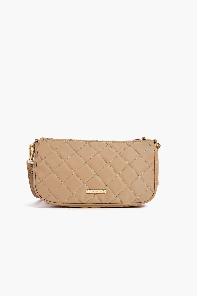 LIKE DREAMS London Quilted Chain Crossbody