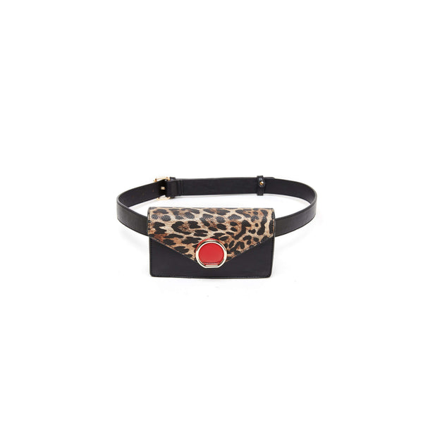 LIKE DREAMS Spotted Broach Belt Bag