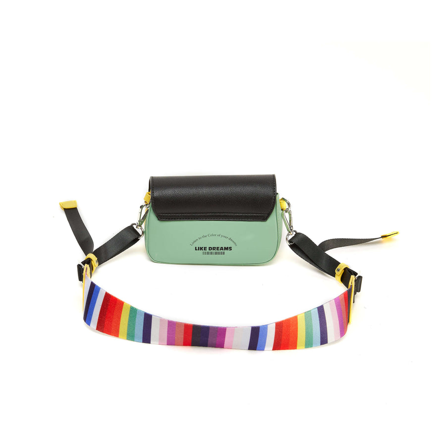 LIKE DREAMS Two Tone Envelope Crossbody - shoplikedreams