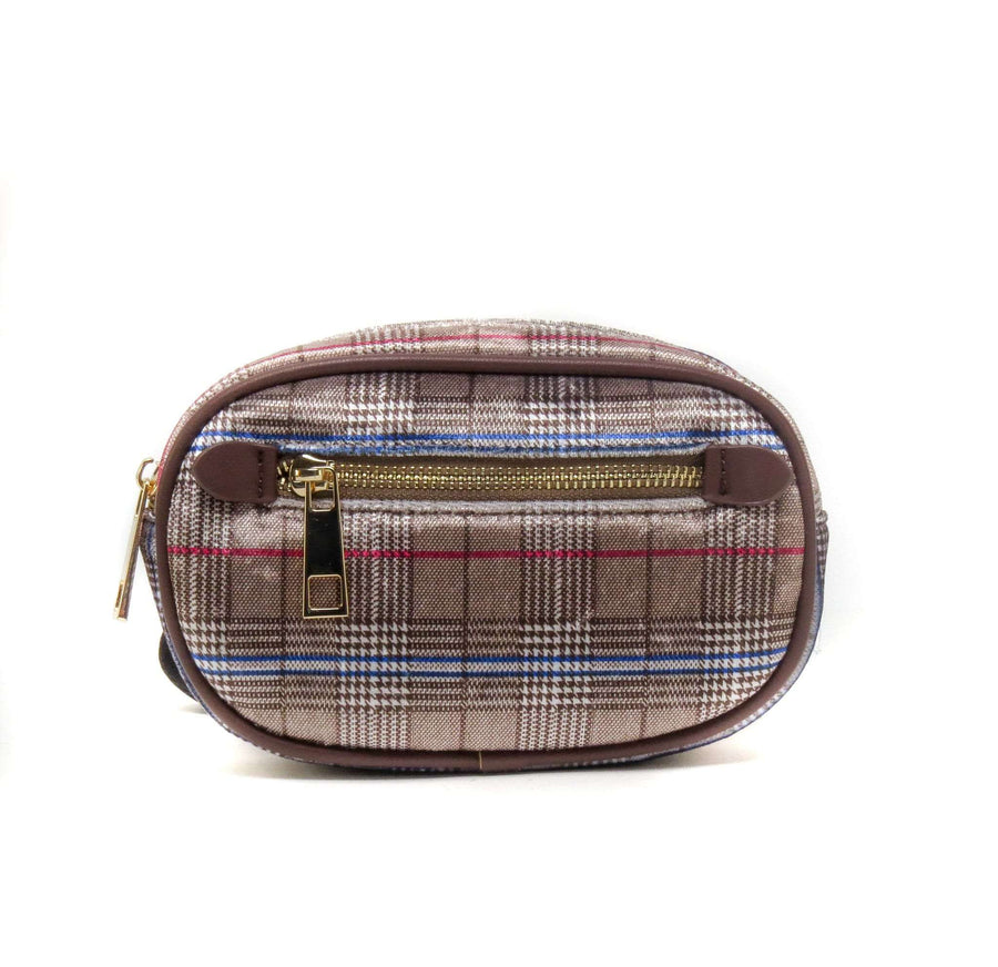 Like Dreams Plaid Capsule Fanny Pack