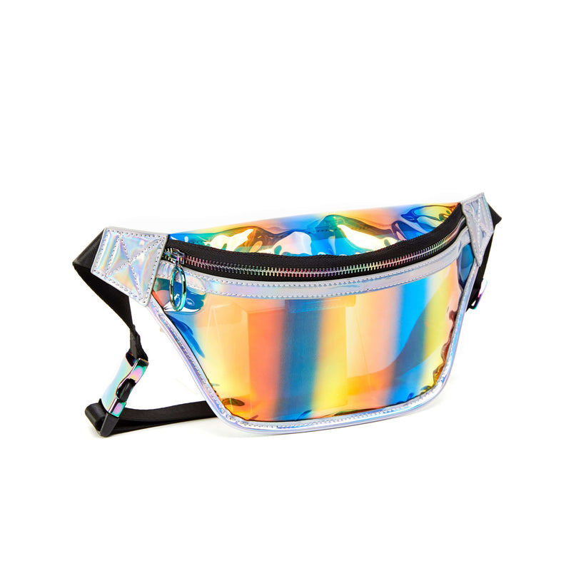 LIKE DREAMS Solaire Hologram Visor Fannypack - shoplikedreams