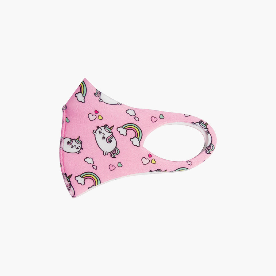 LIKE DREAMS Fluffy Unicorn - Kids Face Mask