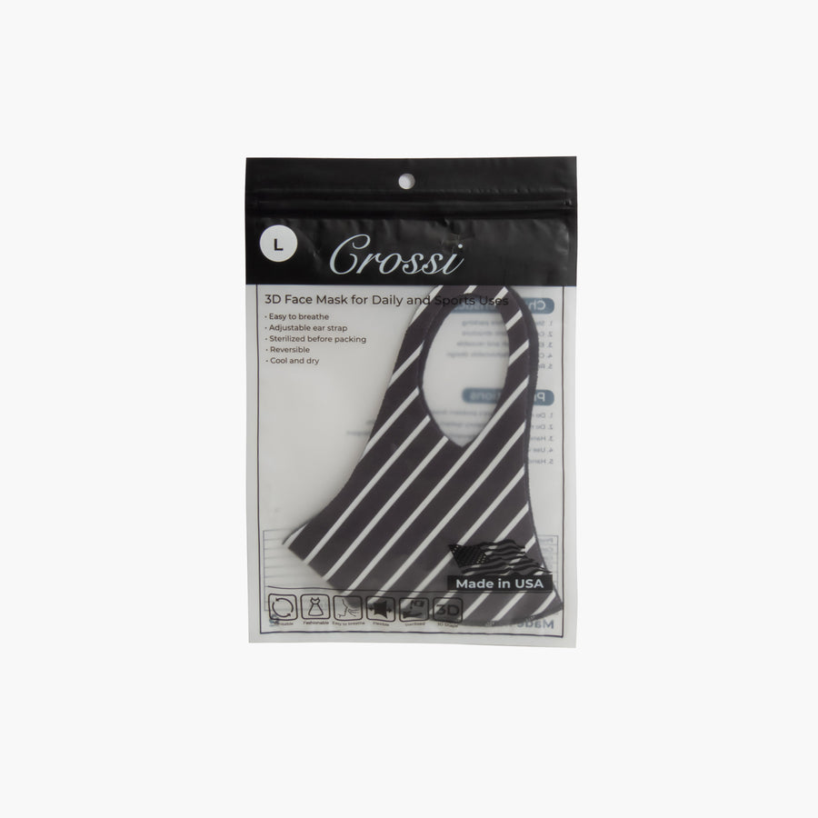 LIKE DREAMS Basic Striped - Adult Face Mask