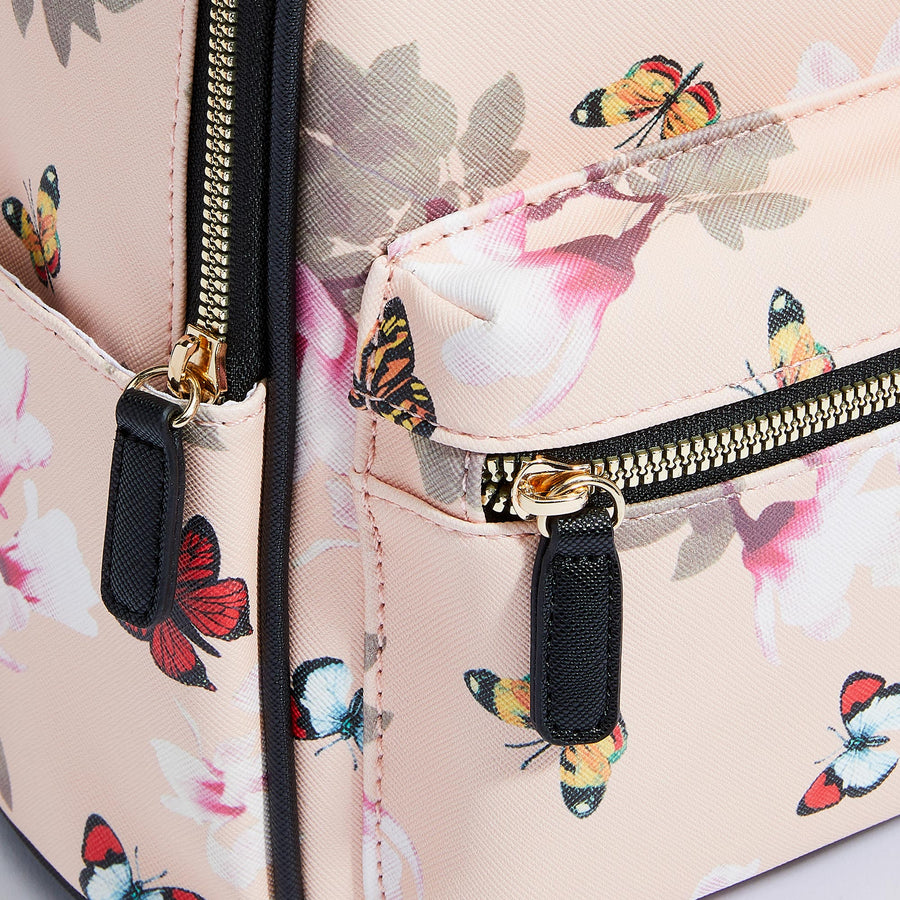 LIKE DREAMS Butterfly Floral Backpack