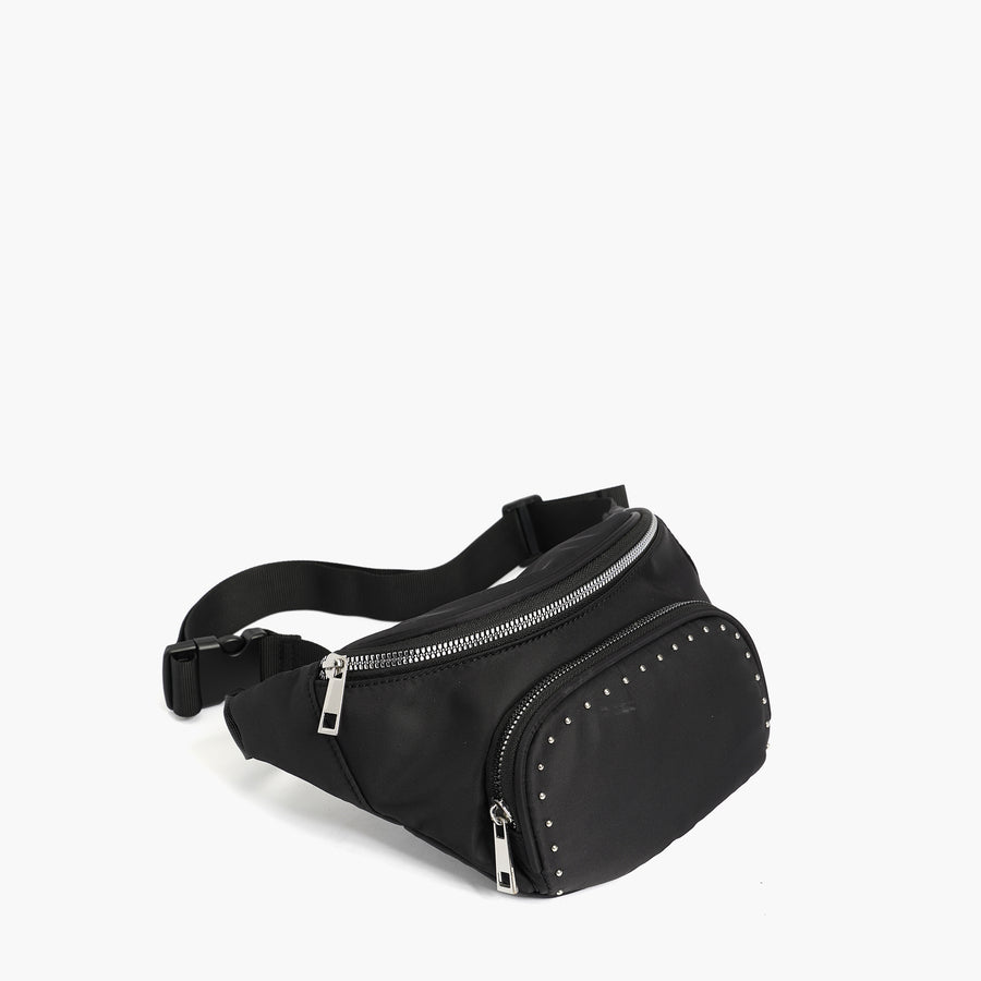 LIKE DREAMS Studded Rockstar Belt Bag
