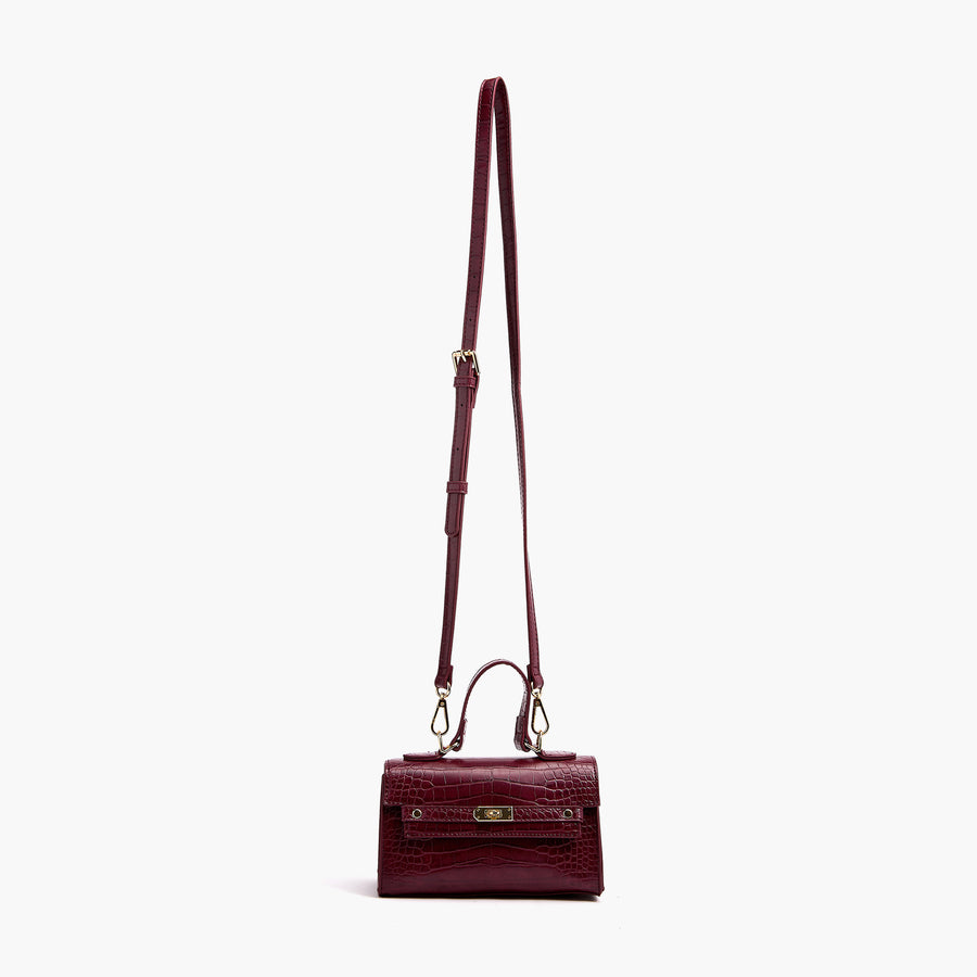 LIKE DREAMS Chex Top Handle Satchel