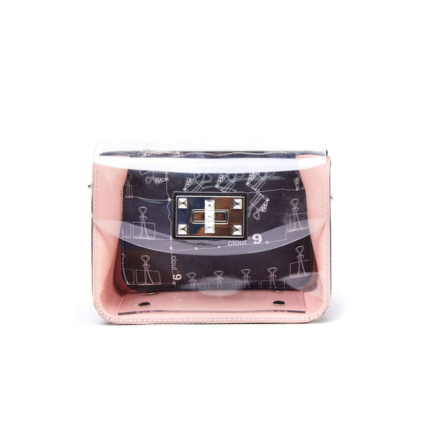 LIKE DREAMS Clear Robo Clout 9 Crossbody - shoplikedreams