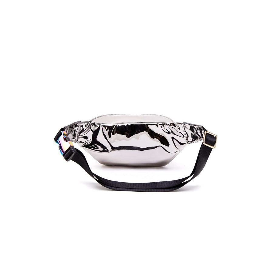 LIKE DREAMS Jo Y2K Basic Foil Hologram Fanny Pack H17120613 - shoplikedreams