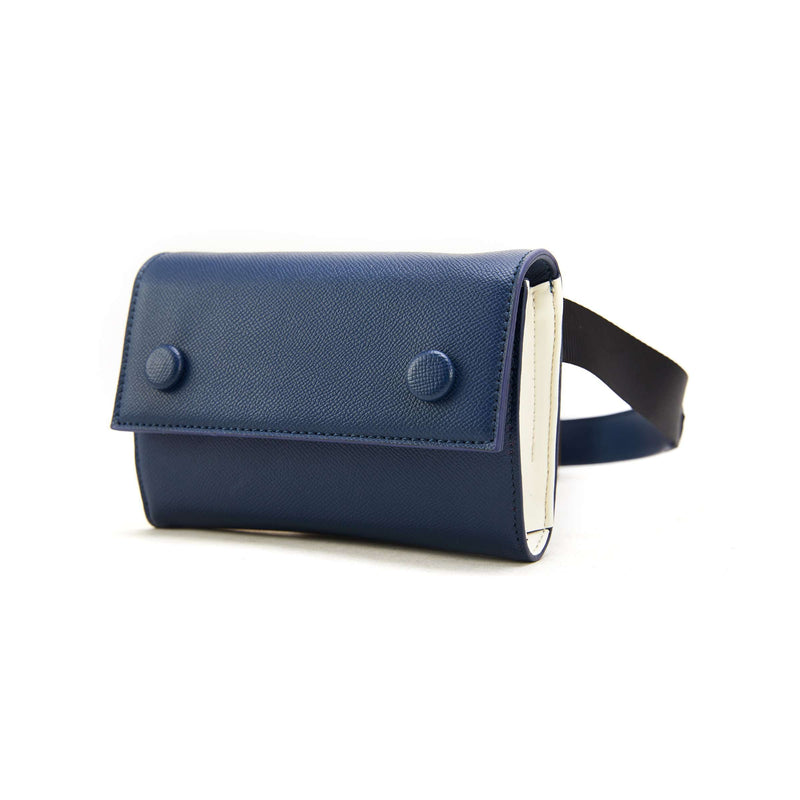 LIKE DREAMS Two-Tone Shoulder Bag Fanny Pack