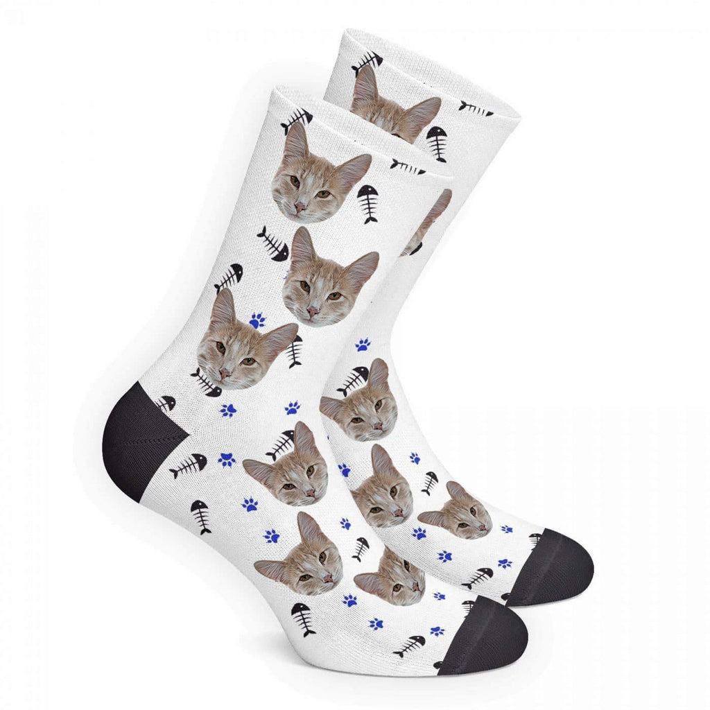 Custom Cat Socks - Make Custom Gifts