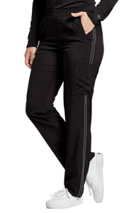Pantalon White Cross avec Bordure Décorative # 379P