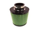 Green Filter Green Filter High Performance Cone Air Filter - Replacement for Fiesta Intakes - 3