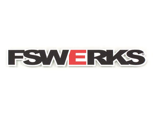 "FSWERKS 10"" Decal"
