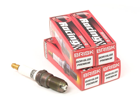 Brisk Brisk Premium LGS Spark Plugs 4 Pack - Ford Focus Duratec - 1