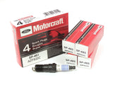 Motorcraft Motorcraft AZFS22C Copper Spark Plugs (4 Pack) - Ford Focus Zetec (One step colder) - 1