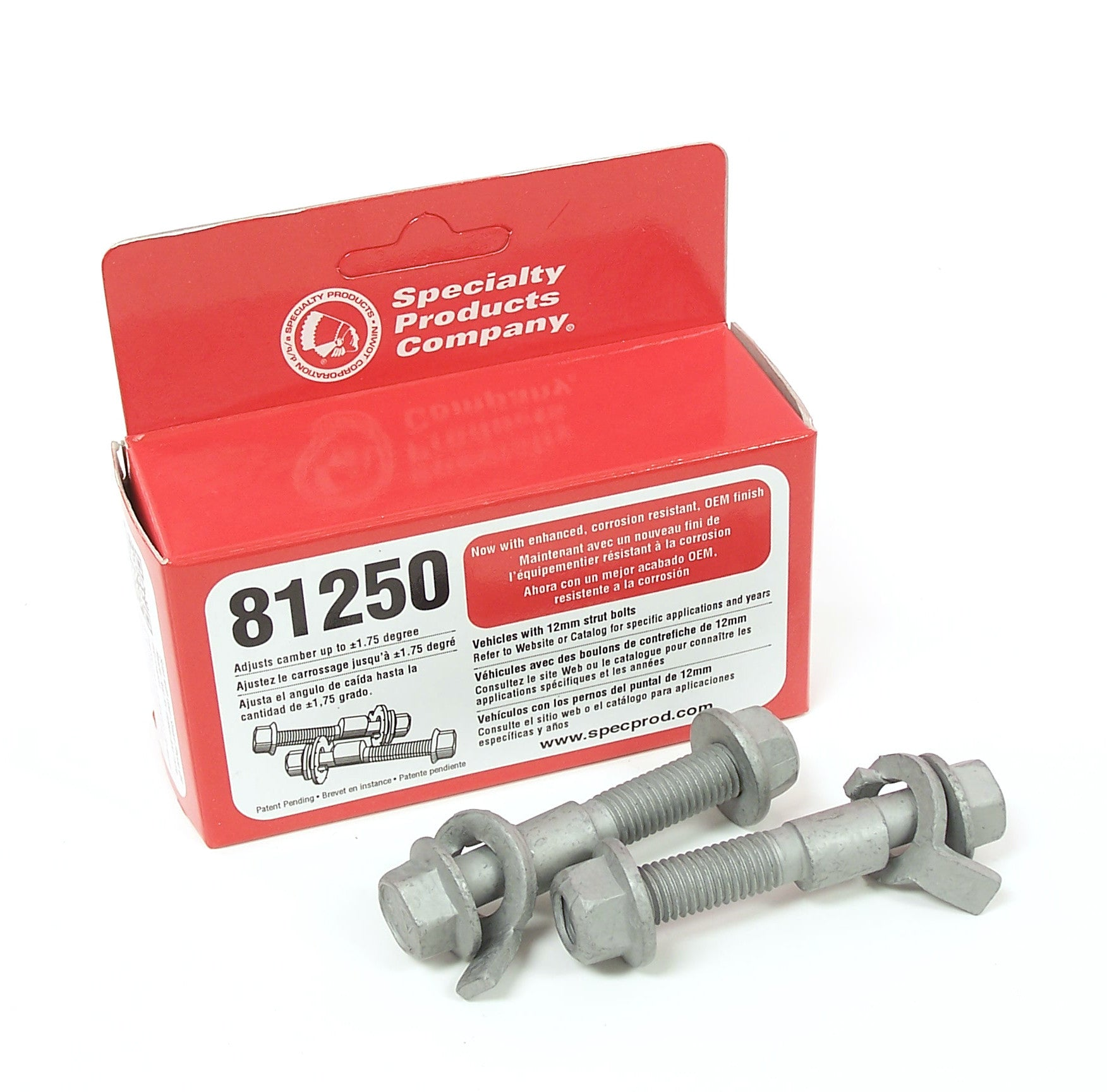 SPC EZ Cam XR Camber Adjusting Bolts