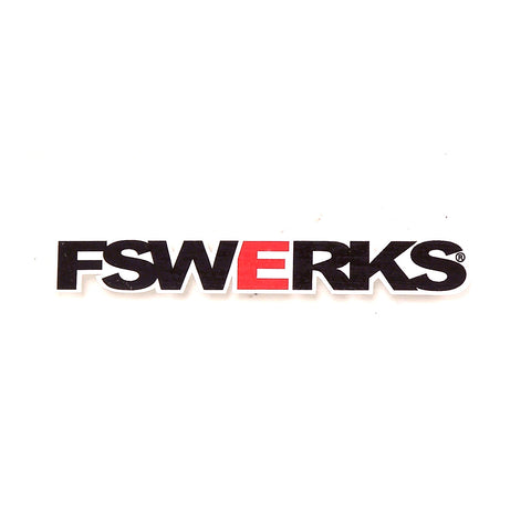 "FSWERKS FSWERKS 33"" Decal - 1"