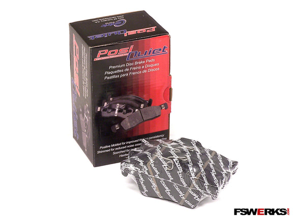 Stoptech Stoptech Posi Quiet Premium Semi-Metallic Rear Brake Pads - Ford Focus/C-Max/Escape/Transit 2012-2015