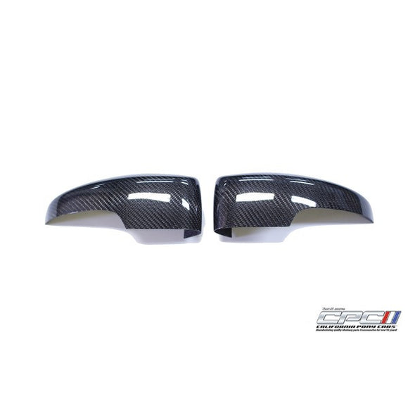 CPC NXT Generation Carbon Fiber Mirror Covers - Ford Focus 2012-2015 - 1