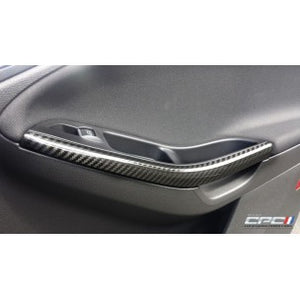 NXT Generation Carbon Fiber Front Door Pull Trims - 2012-2018 Focus ST/RS