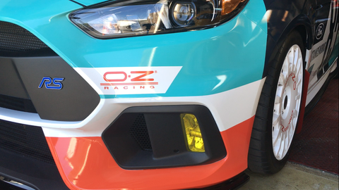 Lamin-X Foglight Covers - Ford Focus RS 2016-