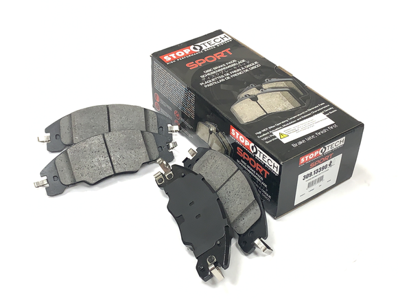 Stoptech 309 Front Brake Pads - Ford Focus Duratec 2008-2011