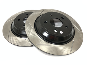 StopTech Sport Rear Slotted Rotors - Ford Focus RS 2016-2018
