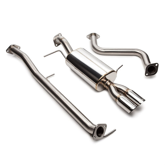 Cobb Stainless Steel Dual Tip Cat-Back Exhaust System - Ford Fiesta ST - 1