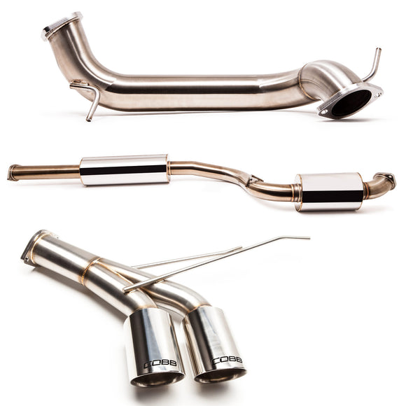 Cobb Stainless Steel Cat-back Exhaust System – Ford Focus ST Ecoboost 2.0L 2013-2018