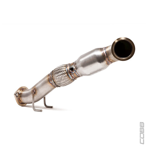 Cobb Cobb Stainless Steel Downpipe with Catalytic Converter – Ford® Focus ST EcoBoost 2.0L 2013-2015 - 1