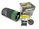 Green Filter Air Filter Kit with Outerwears Cover - Ford Focus/Focus RS/Transit Connect/Escape
