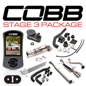 Cobb Stage 3 Power Package w/Accessport V3 - Ford Fiesta ST 2014-2018