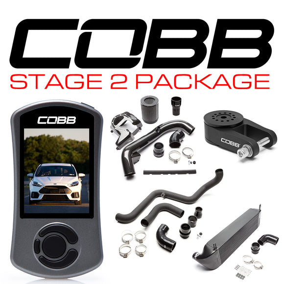 Cobb Stage 2 Power Package w/Accessport V3 - Ford Focus RS 2016-2018