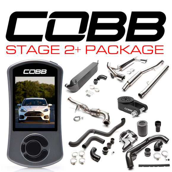 Cobb Stage 2+ Power Package w/Accessport V3 - Ford Focus RS 2016-2018