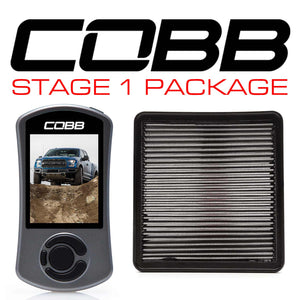 Cobb Stage 1 Power Package - F-150 Raptor 2017-2019