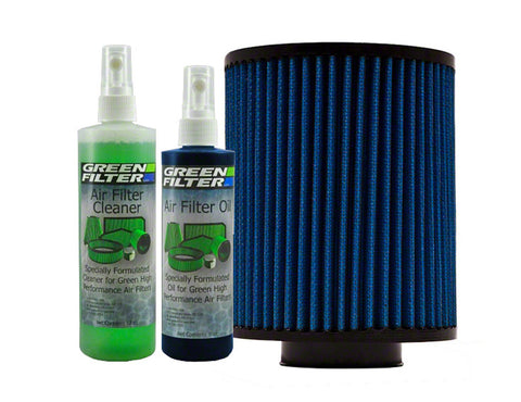Green Filter Green Filter Recharge Oil & Cleaner Kit - Blue Color