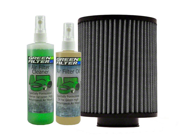 Green Filter Green Filter Recharge Oil & Cleaner Kit - Clear/Grey Color