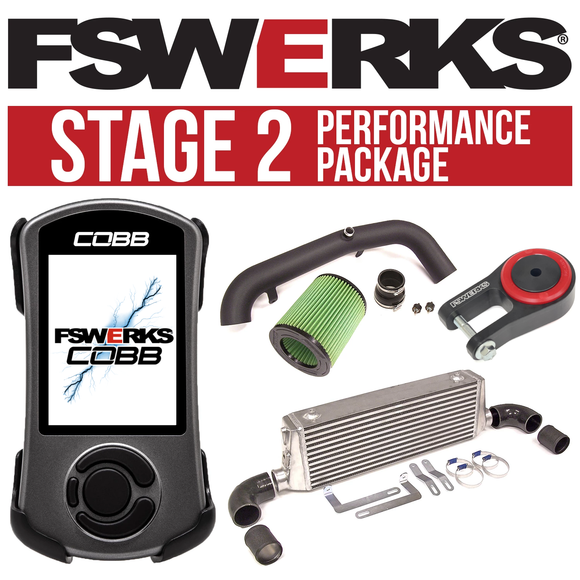 FSWERKS Stage 2 Performance Package - Ford Focus ST 2013-2018