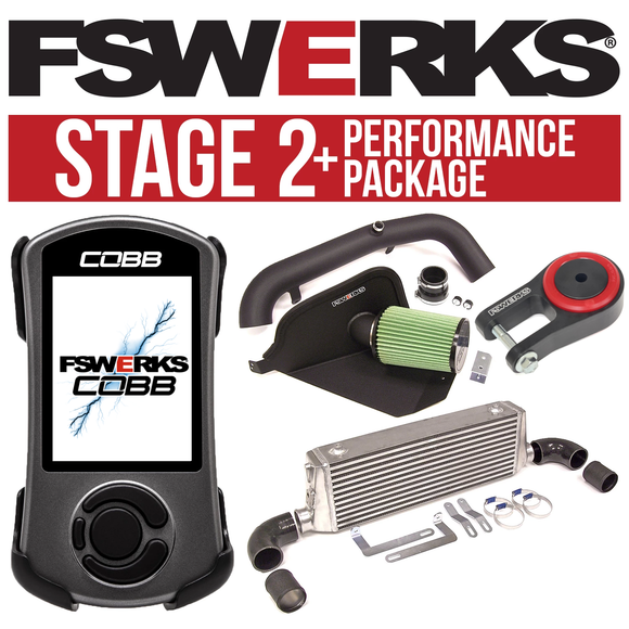 FSWERKS Stage 2+ Performance Package - Ford Focus ST 2013-2018