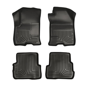 Husky Liners Husky Liners WeatherBeater Black Front & Back Seat Floor Mats - 2008-2011 Ford Focus