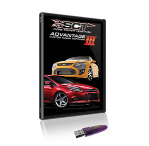 SCT SCT DERIVE Advantage III Package - Ford Focus SPI/Zetec/SVT/Duratec