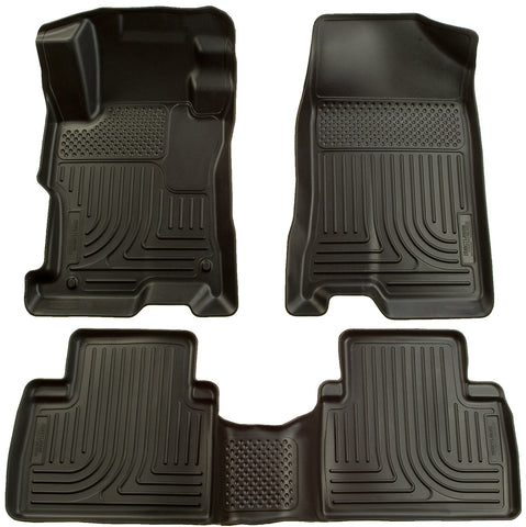 Husky Liners Husky Liners WeatherBeater Black Front & 2nd Seat Floor Liners- Ford Fusion (06-09)