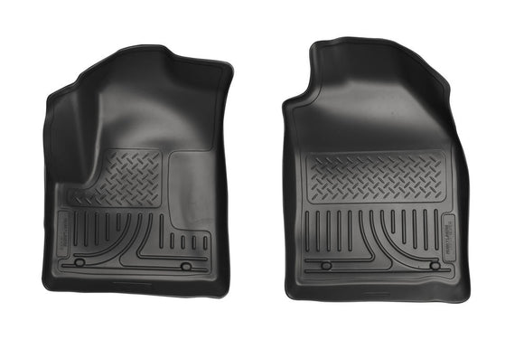 Husky Liners WeatherBeater Black Front Floor Liners - Ford Transit Connect 2010-2013