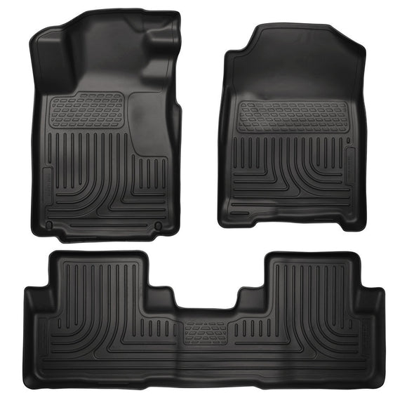 Husky Liners Husky Liners WeatherBeater Front& 2nd Seat Floor Liners - 2010-2014 Ford Mustang Couple/Convert