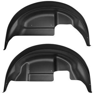 Husky Liners Black Rear Wheel Well Guards - Ford F-150 Raptor 2017-2019