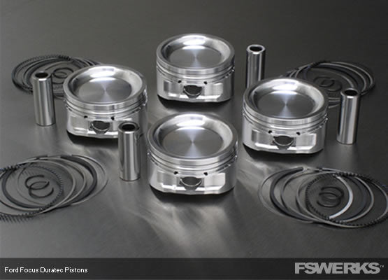 FSWERKS FSWERKS Forged 2.3L Pistons - Ford Duratec 2003-2007 - 1